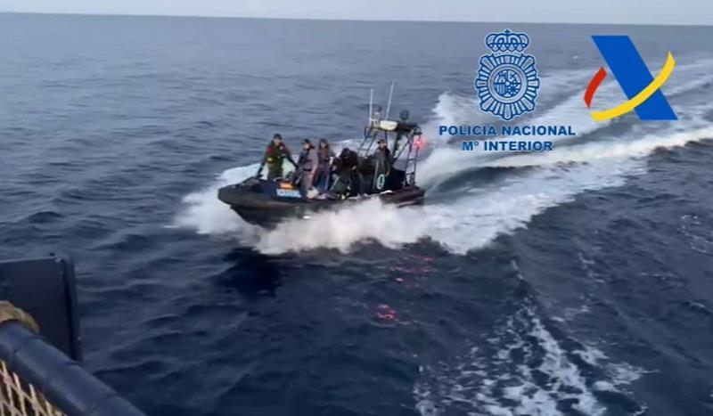 Desarticulada una red internacional de transporte de drogas mediante embarcaciones de recreo