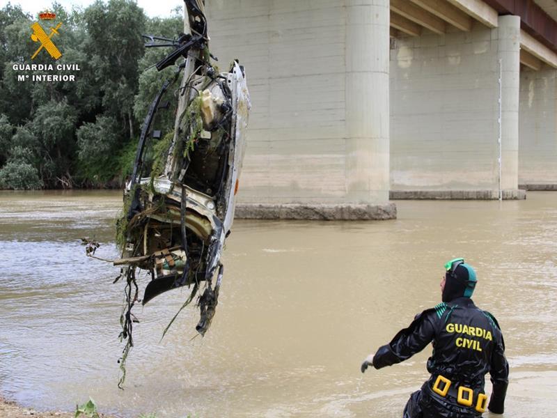 La Guardia Civil esclarece el atropello mortal ocurrido en Luceni (Zaragoza)