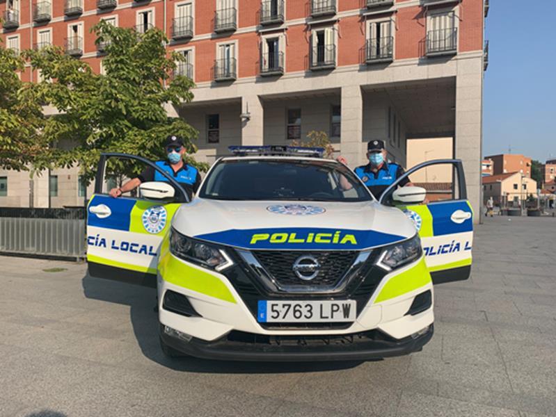 Cuatro nuevos vehículos patrullarán las calles de Leganés y se convocan 40 plazas de Policía Local