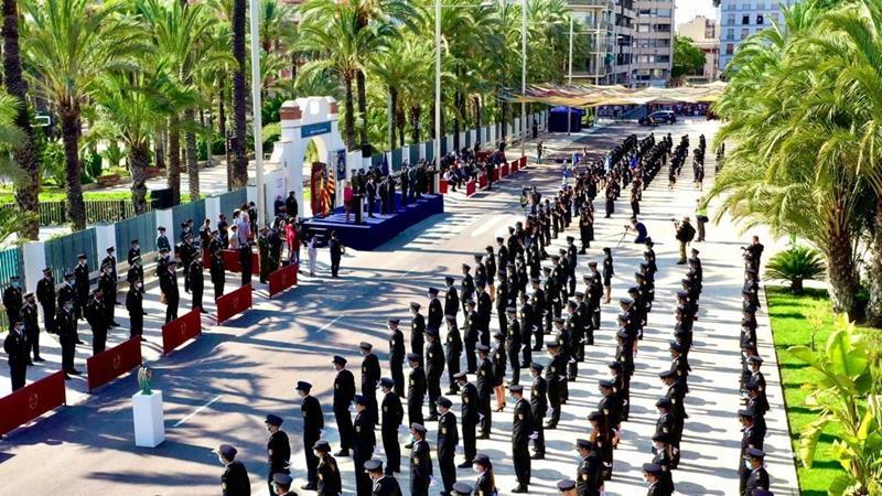 Recopilación de fotos de todos los actos de jura del cargo de la promoción XXXV de la Policía Nacional