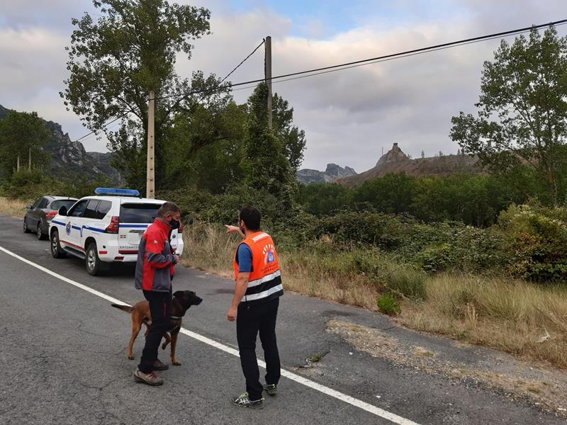 Buscan a un hombre desaparecido en Ollauri (La Rioja) tras localizar su vehículo estacionado junto a la N-124