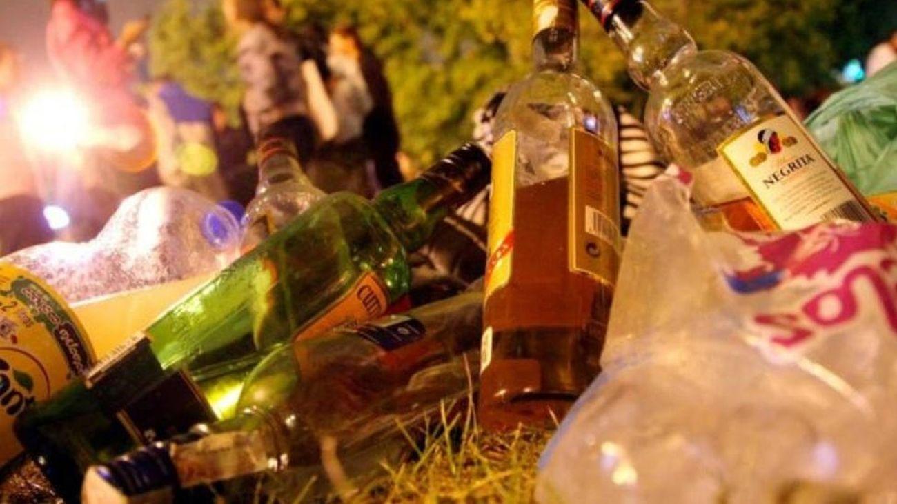El botellón será considerado una falta grave multada con hasta 30.000 euros en la Comunidad Valenciana