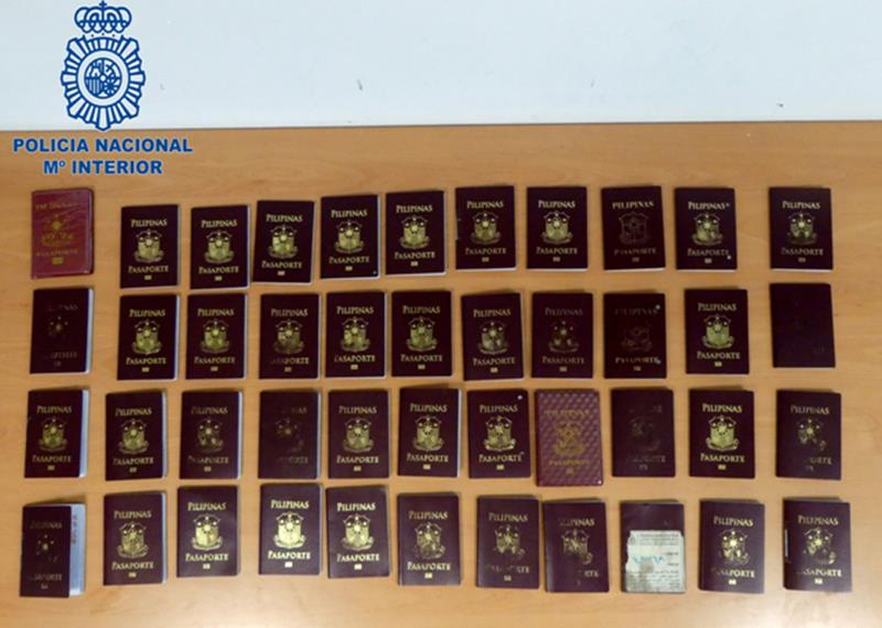 Detenidos 50 ciudadanos filipinos por acceder irregularmente en Europa con visados Schengen falsificados