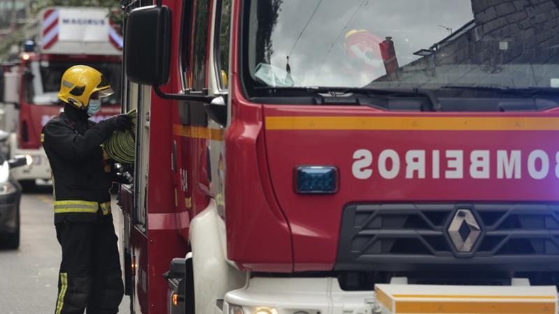 La explosión de un manguito en un autobús deja una pasajera herida en Ourense