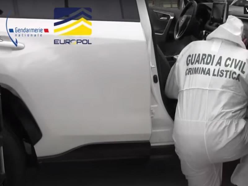 Un grupo criminal dedicado al robo de vehículos híbridos