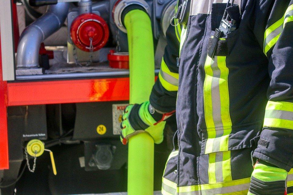 Fallece una mujer en el incendio de una vivienda en Aguilar del Campoo (Palencia)