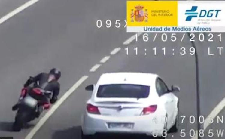 La DGT incrementa la vigilancia en carreteras frecuentadas por motoristas