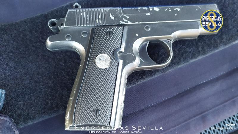 Detenido tras atracar una farmacia de Sevilla con una pistola simulada